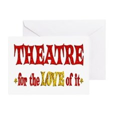 Theatre Love Greeting Card