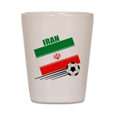 Iran Soccer Team Shot Glass