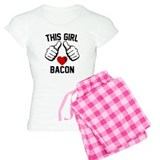 This Girl Loves Bacon Pajamas