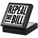 REPEAL the BILL Keepsake Box