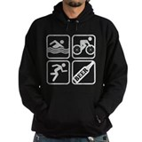 Swim Bike Run Beer! Hoodie