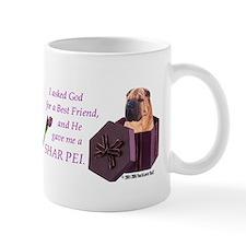 I Asked God -Mug -Sharpei Mugs