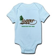 Retro Logger Infant Bodysuit