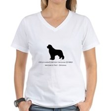 Newfoundland with Customizable Text Shirt
