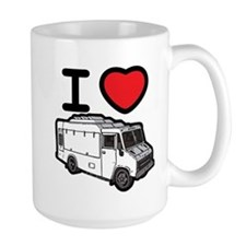 I Love Food Trucks! Mug