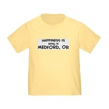 Happiness is Medford T