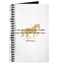 Michelangelo angel sayings - horse Journal