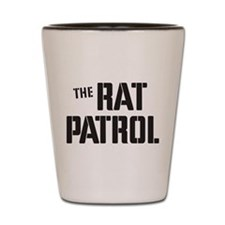 The Rat Patrol Shot Glass