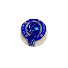 Blue Holly Clan Mini Button (10 pack)
