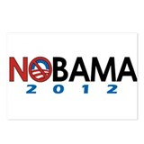 NObama 2012, Anti-Obama Postcards (Package of 8)