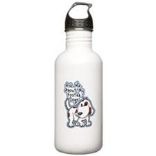 Ask Me About (Dogs) Water Bottle