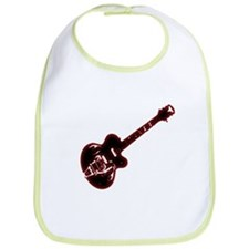 Flaming Gibson Guitar Bib