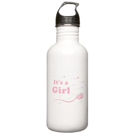 Its a Girl swimmer Stainless Water Bottle 1.0L