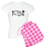Food Truck Plate & Utensils pajamas