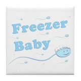 Freezer Baby Tile Coaster