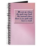 """Leave a Trail"" Journal"