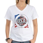 USA Original Women's V-Neck T-Shirt