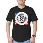 USA Original Men's Fitted T-Shirt (dark)
