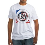 USA Original Fitted T-Shirt