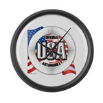 USA Original Large Wall Clock