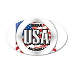 USA Original 22x14 Oval Wall Peel