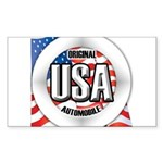 USA Original Sticker (Rectangle 10 pk)