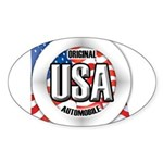 USA Original Sticker (Oval 10 pk)
