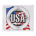 USA Original Throw Blanket