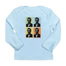 4 Score Lincolns Long Sleeve Infant T-Shirt