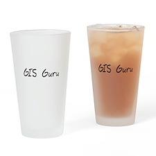 GIS Guru Drinking Glass