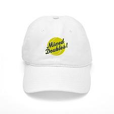 Tennis Mixed Doubles Baseball Cap