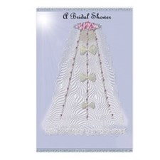 Bridal Invite Postcards (Package of 8)