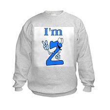 I'm 2 Fingers Old Sweatshirt
