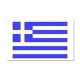 Greek Flag Car Magnet 20 x 12