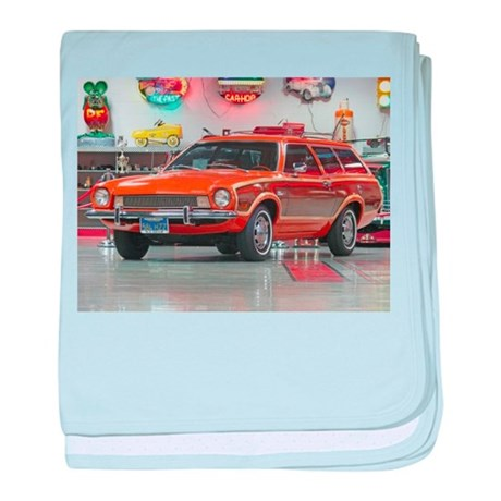 1973 Ford Pinto baby blanket