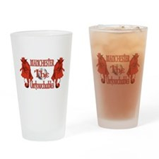 Manchester Untouchables Drinking Glass