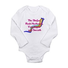 Rosh Hashanah Long Sleeve Infant Bodysuit