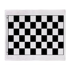 Checkered Flag Throw Blanket