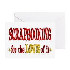 Scrapbooking Love Greeting Card