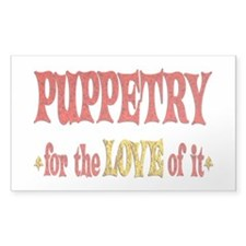 Puppetry Love Decal