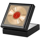Gold Record Keepsake Box