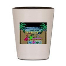 Gator's Tiki Bar Shot Glass