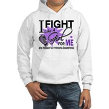 Fight Like A Girl For My Hodgkin's Lymphoma Hoodie