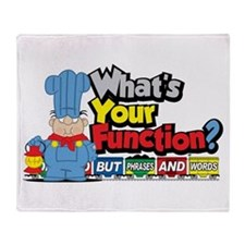What's Your Function? Throw Blanket