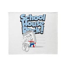 Schoolhouse Rock Bill Throw Blanket