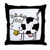 MooCow101 Throw Pillow