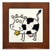 MooCow101 Framed Tile