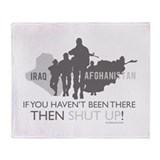 Iraq - Afghanistan If you Hav Throw Blanket