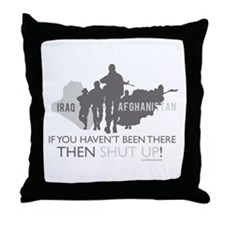 Iraq - Afghanistan If you Hav Throw Pillow