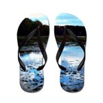 Walking On Water Jolene's Trailer Park Flip Flops